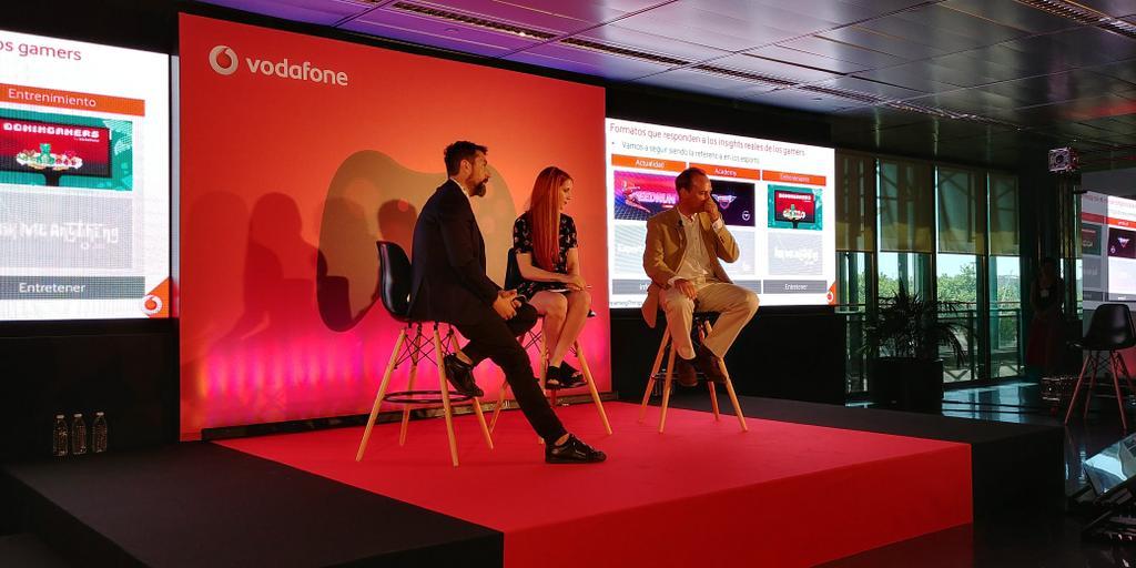 Presentación Vodafone eSports
