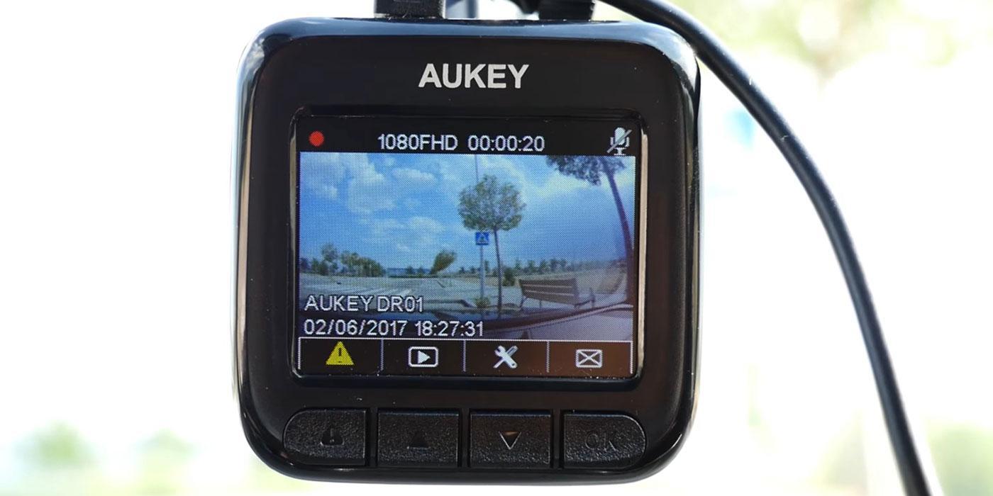 Cámara para coche AUKEY Dashboard Camera