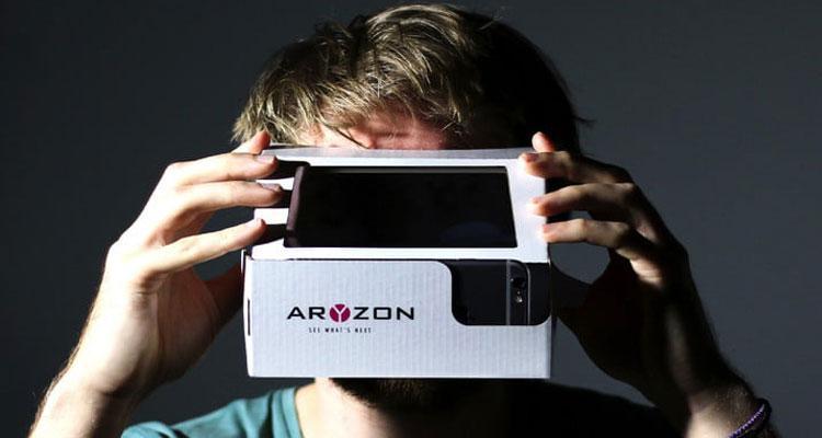 Gafas de realidad virtual Aryzon