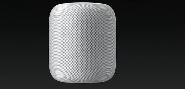 Diseño del altavoz Apple HomePod