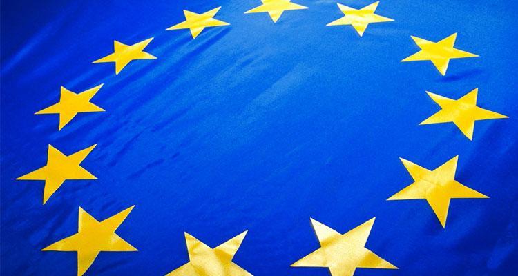 Bandera representativa de la Unión Europea