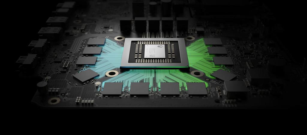 Chip integrado en la Xbox One X
