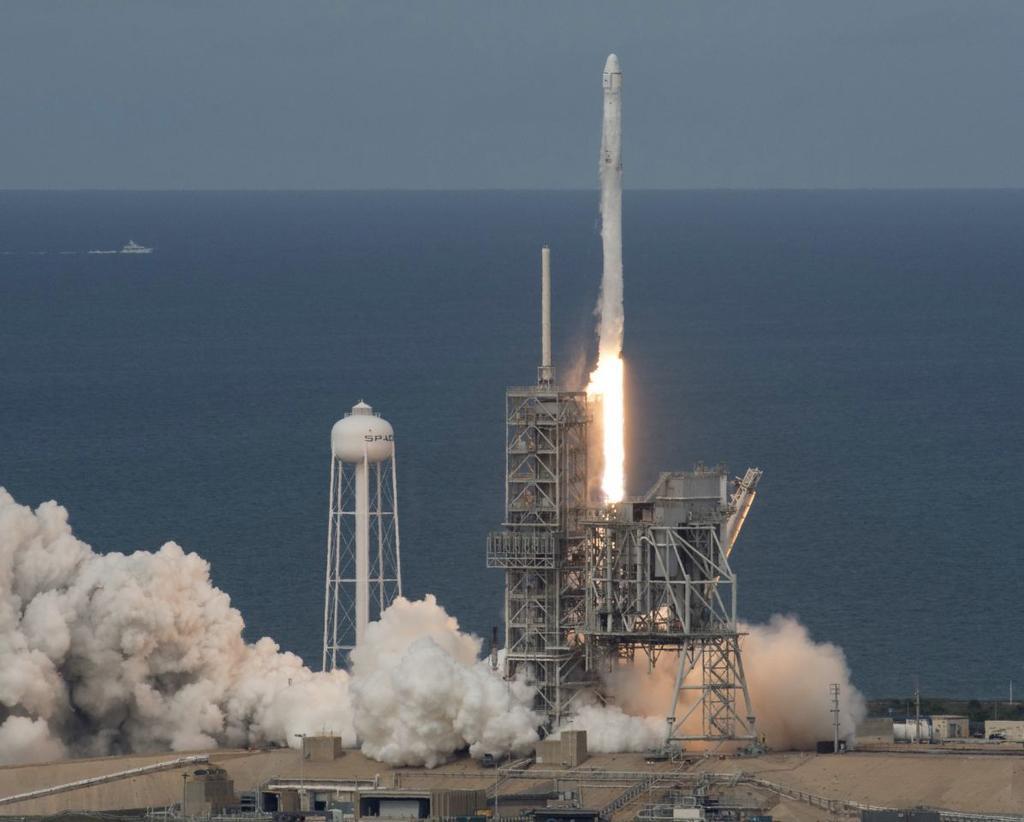 Cohete SpaceX reutilizable