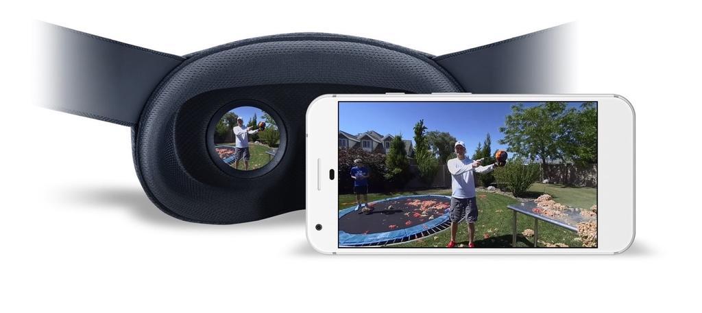 Contenido con la plataforma Google VR180