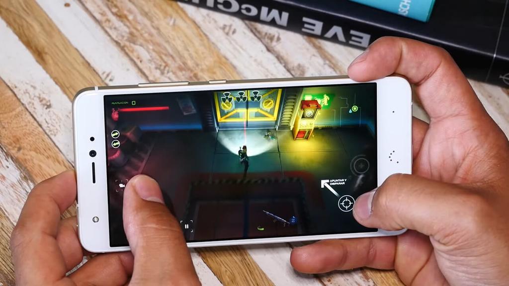 Ejecución de juego BQ Aquaris X Pro
