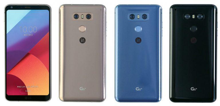 Colores del LG G6 Plus