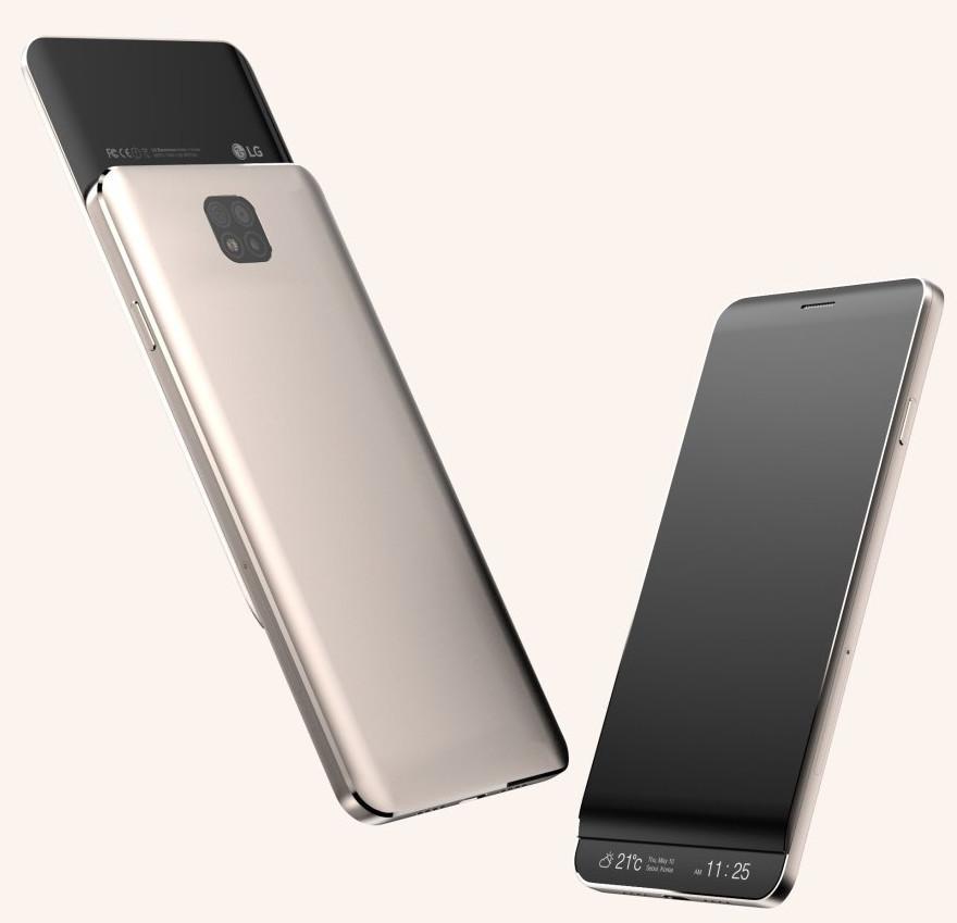 Potencial diseño del LG V30