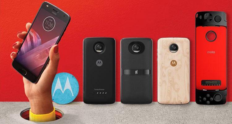 Moto Mods para el teléfono Moto Z2 Play