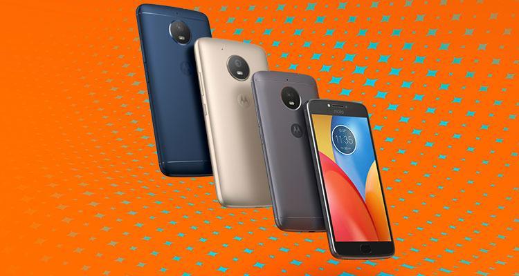 Nuevos teléfonos Moto E de 2017