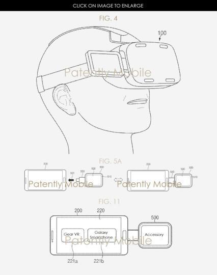 Panel adicional como uno de los accesorios a las gafas Gear VR