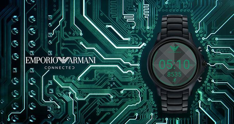 Reloj inteligente Armani Connected