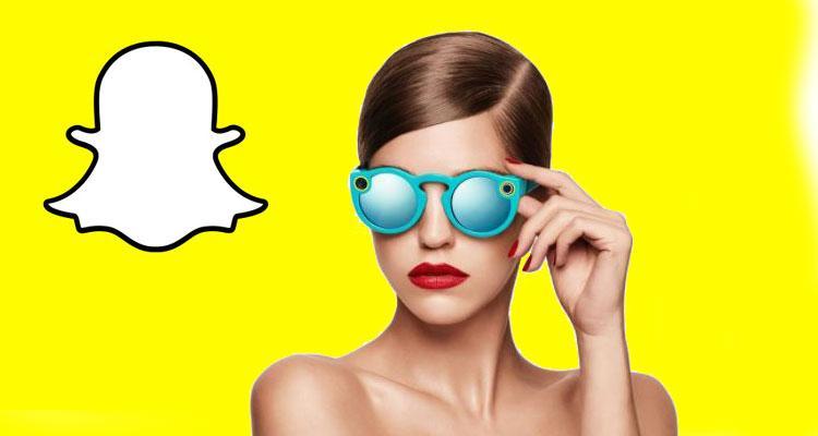 Gafas Spectacles de Snapchat con logo