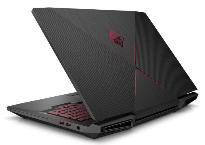 Imagen posterior de los nuevos portátiles HP Omen