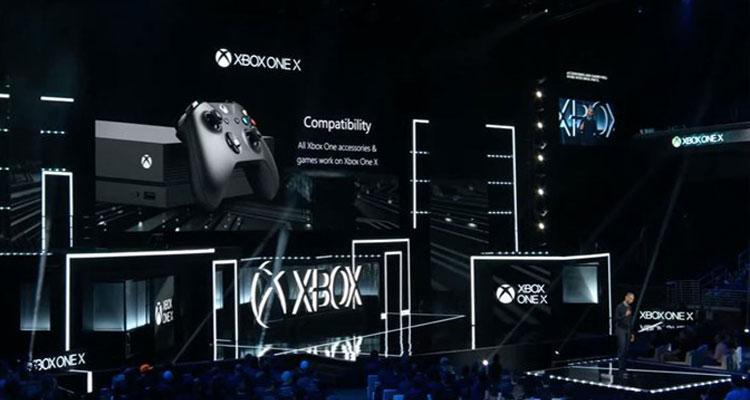 Presentación consola Xbox One X
