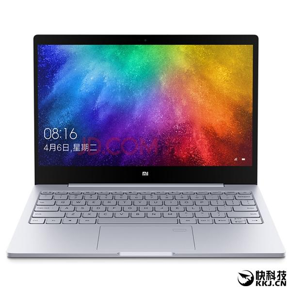 Imagen frontal del Xiaomi Mi Notebook Air