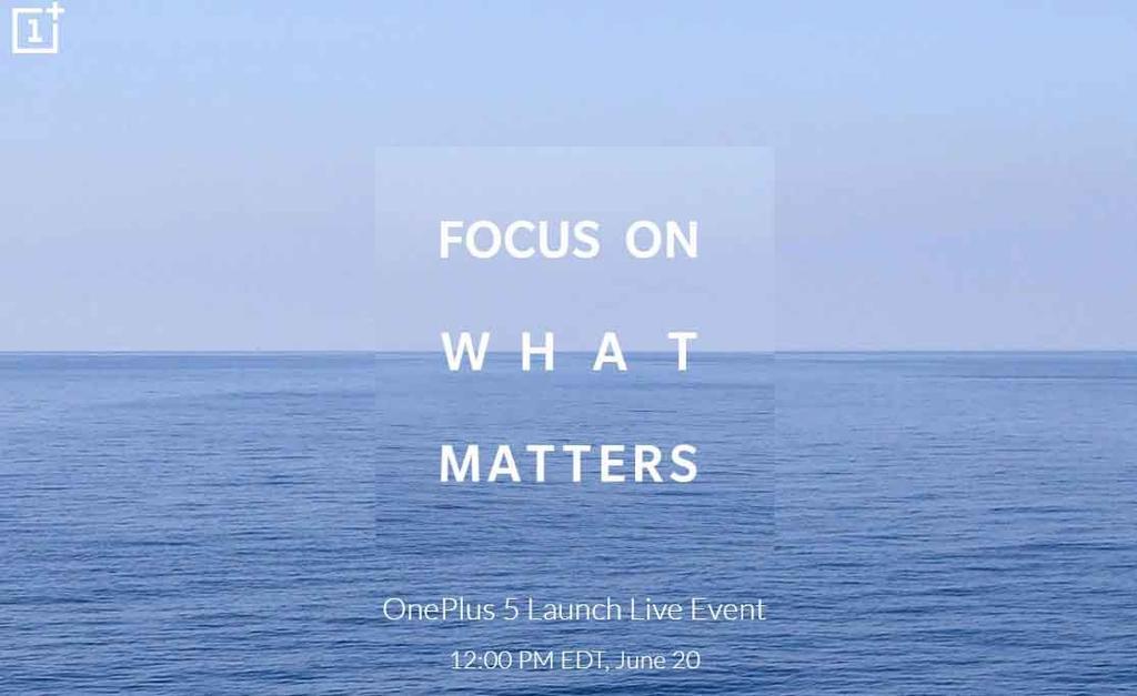 presentación del OnePlus 5