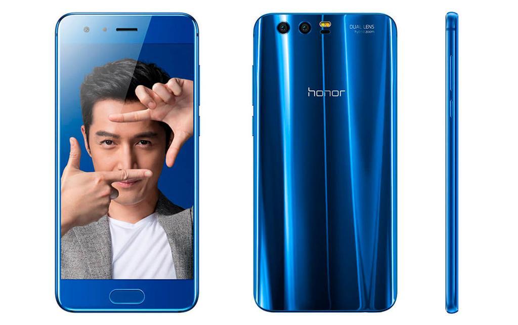 Teléfono Honor 9 de color azul
