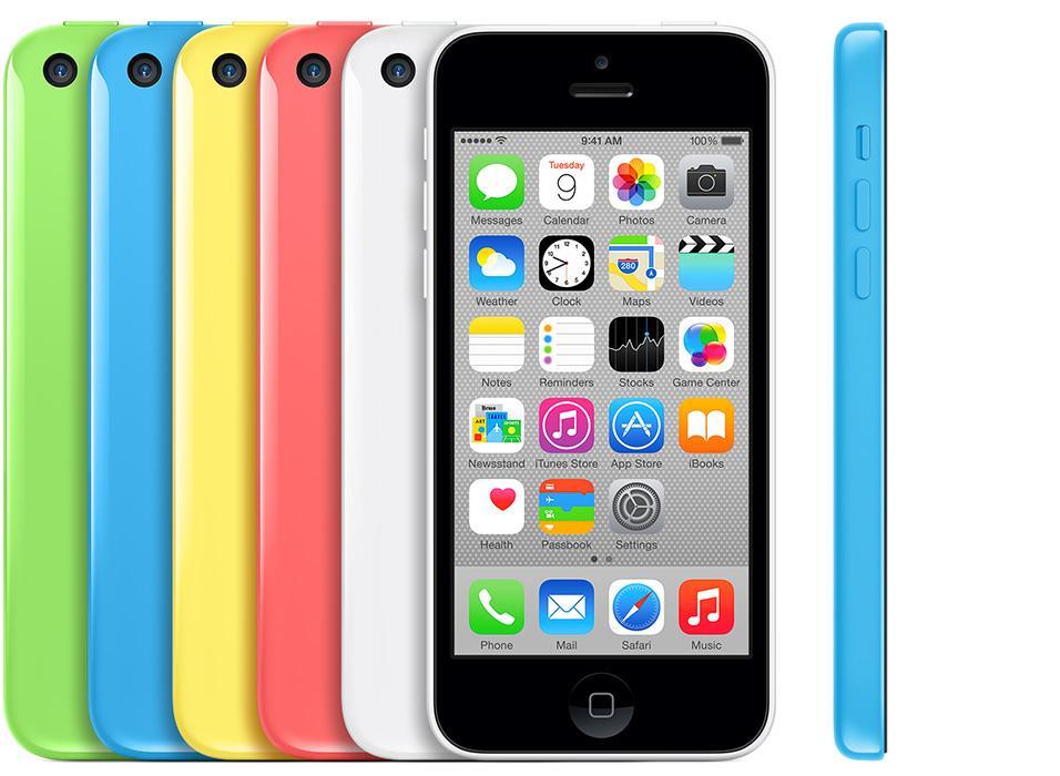Teléfono iPhone 5c
