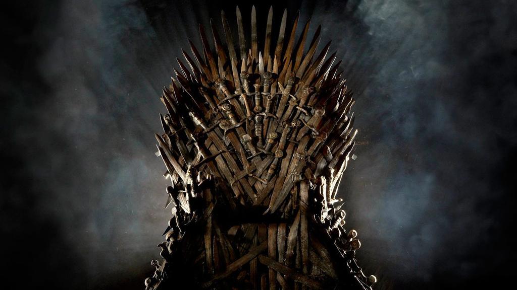 Trono d Hierro en Jugo de tronos de HBO