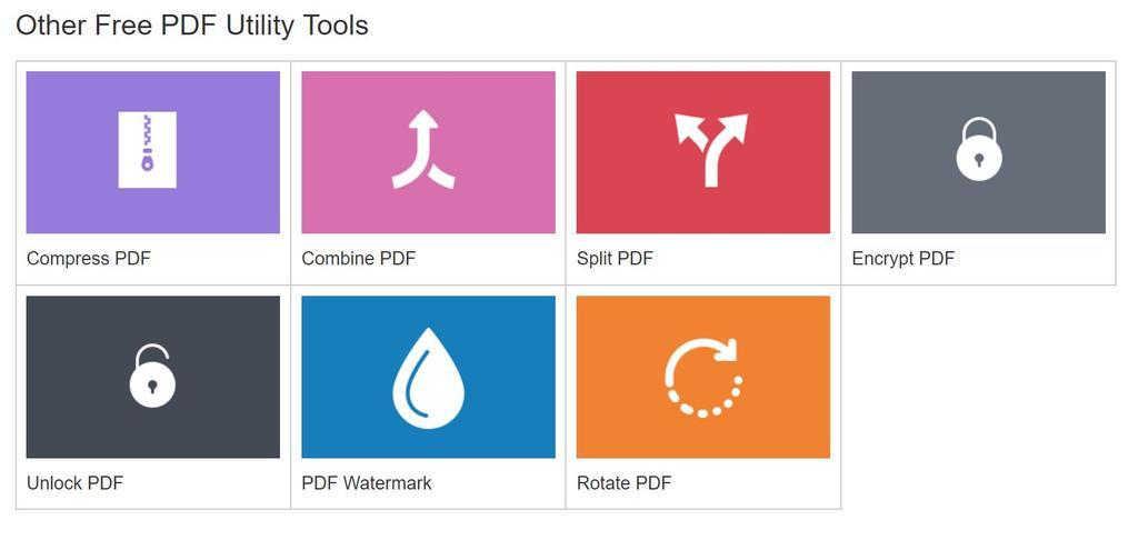 utilidades PDF
