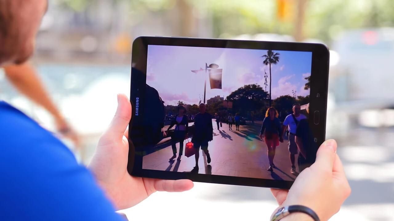 Pantalla del Samsung Galaxy Tab S3