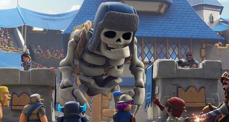Esqueleto Clash Royale