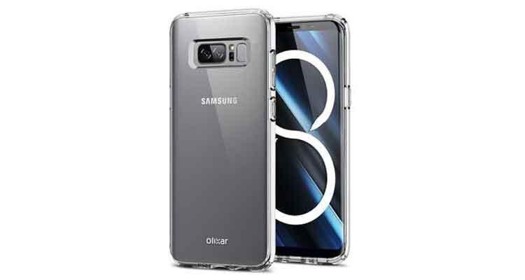 Funda del Samsung Galaxy Note 8