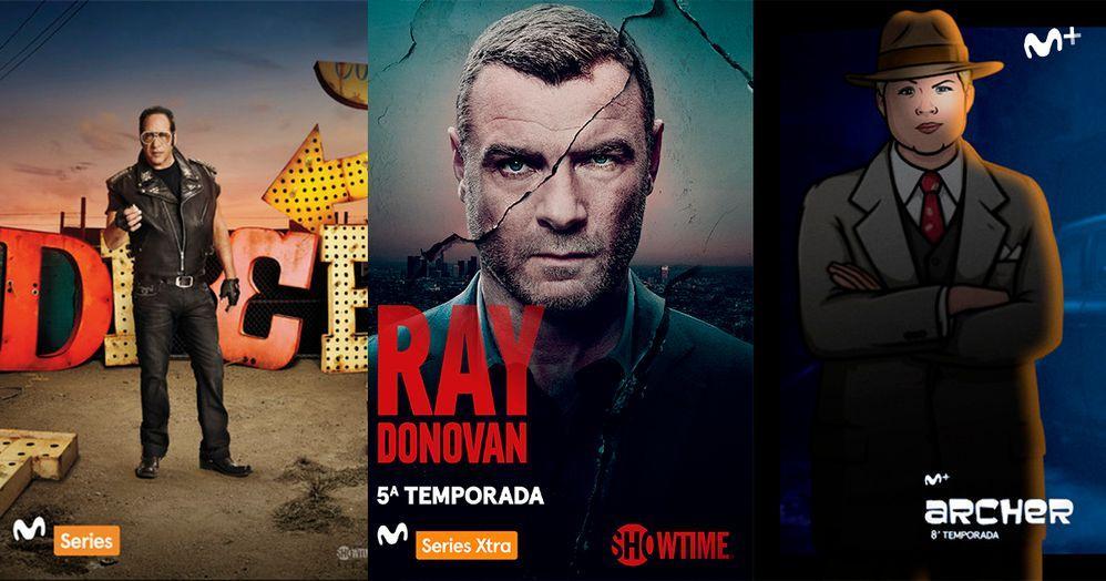Series de estreno en Movistar+ para agosto de 2017