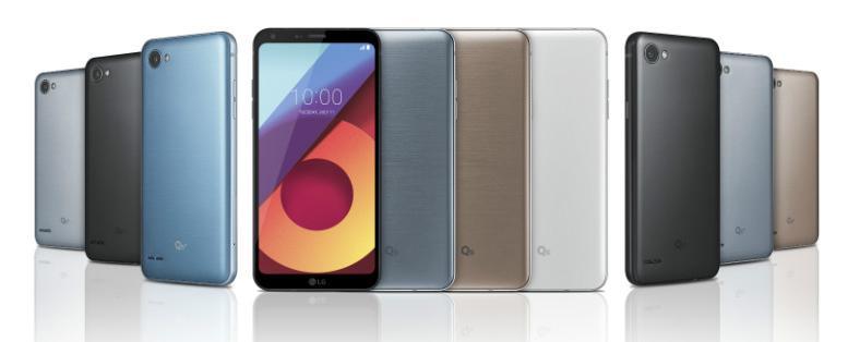 Gama de colores LG Q6