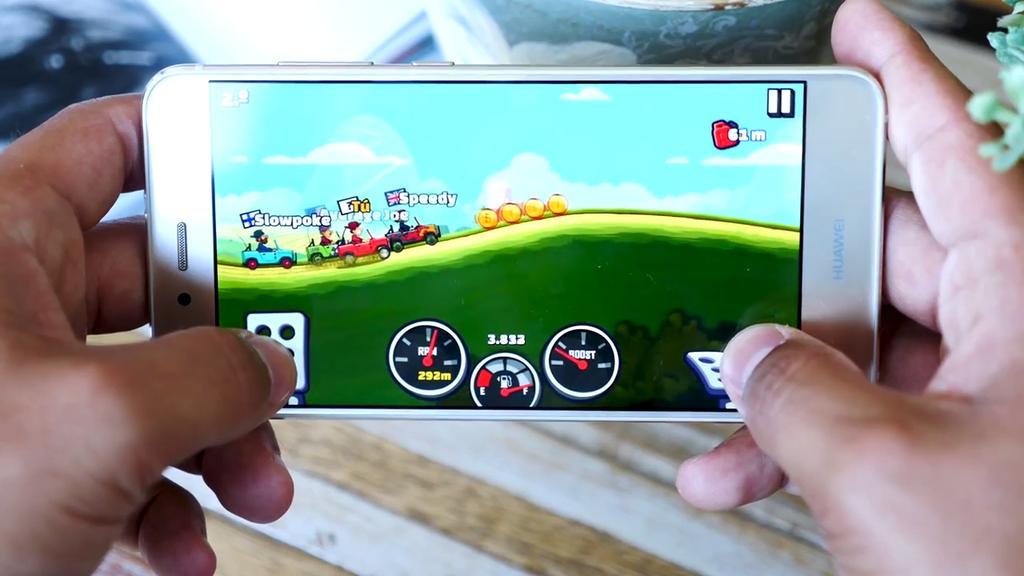 Juego en el Huawei P10 Lite