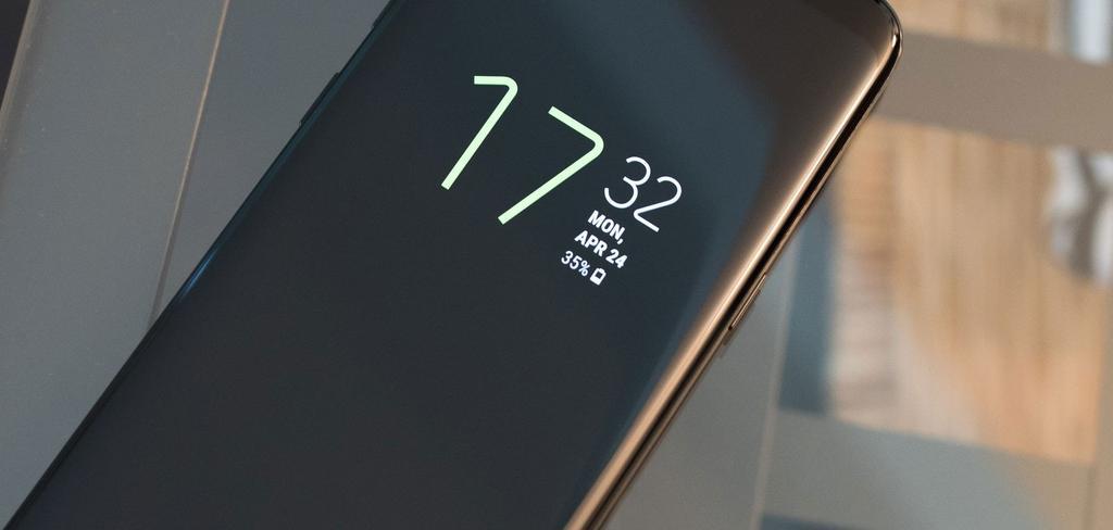 Pantalla funcionando en smartphone