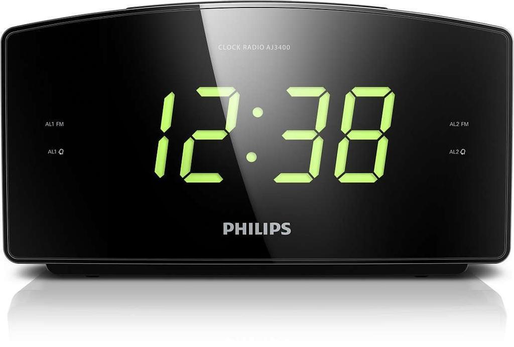 Despertador Philips AJ3400/12