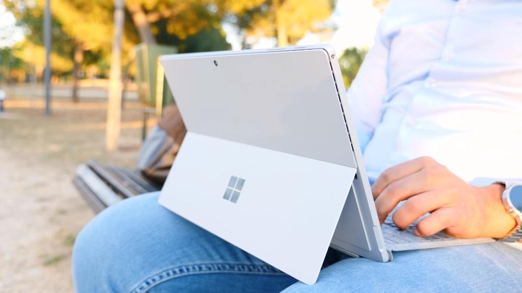 Uso de Microsoft Surface Pro