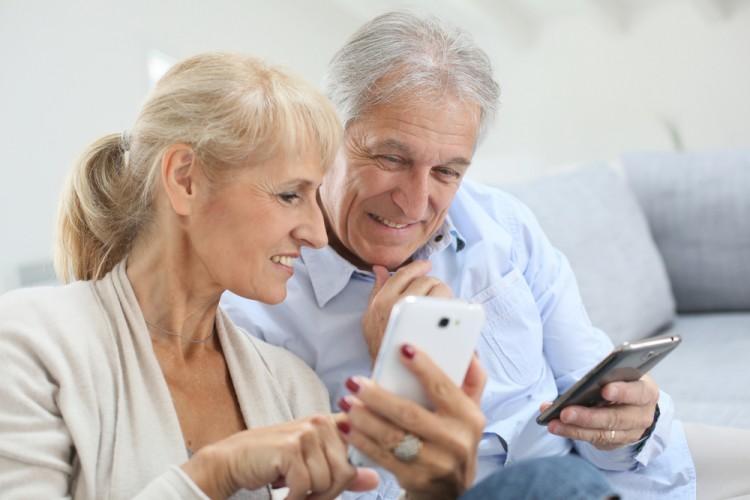Uso de smartphones por personas mayores