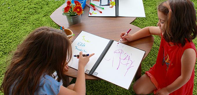 The Color Notebook Rocketbook, cuaderno infinito