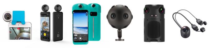 Novedades para los videos en directo 360º