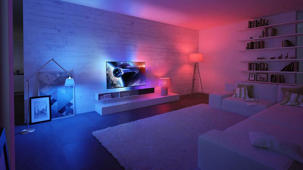 Tecnología Ambilight de Philips