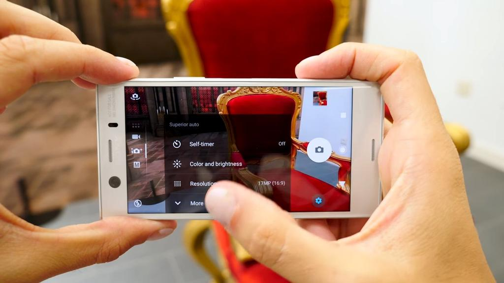 Aplicación cámara del Sony Xperia XZ1 Compact