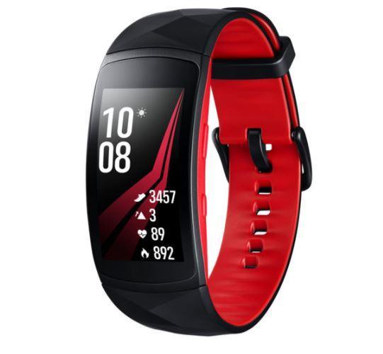 Diseño de la Samsung Gear Fit 2 Pro