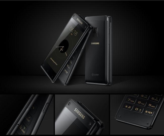 Diseño del Samsung Leader 8