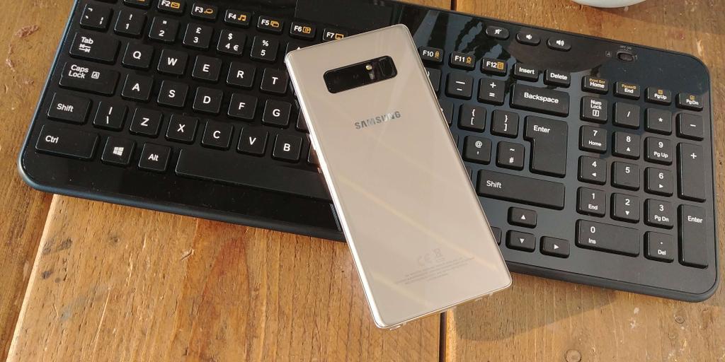 Cámara del Samsung Galaxy Note 8