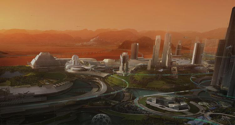 Ciudad HP Mars Home Planet