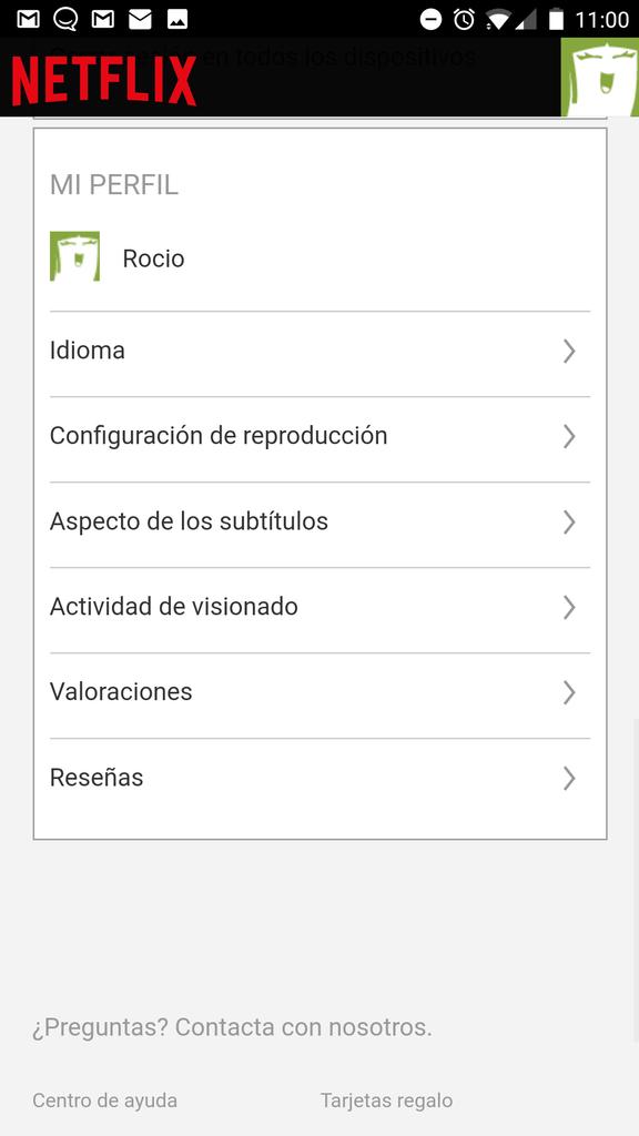 Configuración de una cuenta en Netflix