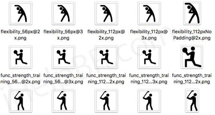 Nuevos ejercicios en Apple Watch