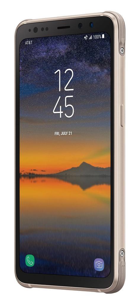 Imagen frontal del Samsung Galaxy S8 Active