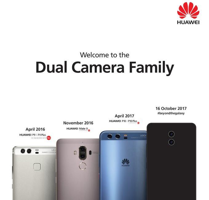Posible diseño del Huawei Mate 10