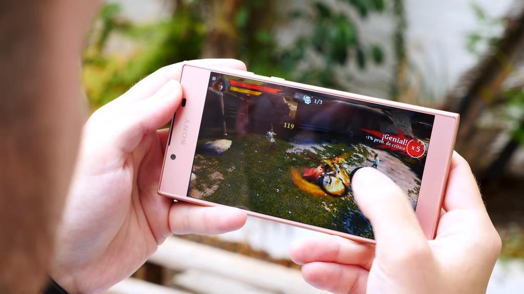 Ejecución de juego Sony Xperia L1