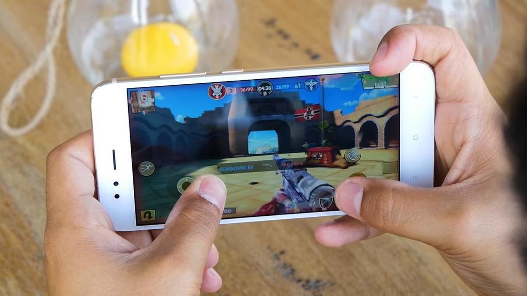 Ejecución de juego en el Xiaomi Mi 5X