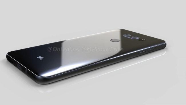 Posible diseño del LG V30