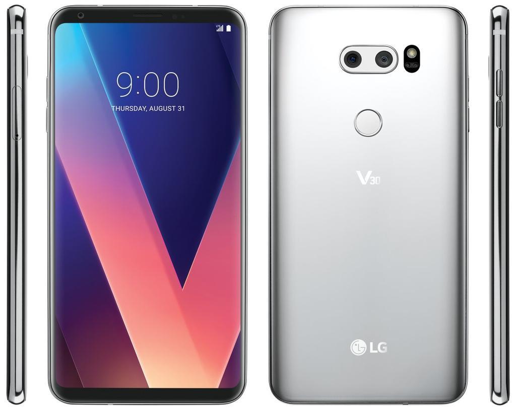 Posible diseño del LG V30+